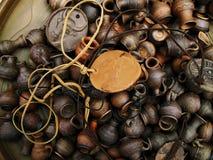 De reeks van de amulet Stock Foto's