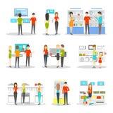De reeks van de Applianciesafdeling Stock Afbeelding