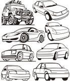 De reeks van de auto royalty-vrije illustratie
