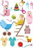 De reeks van de baby Royalty-vrije Stock Afbeelding
