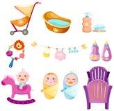 De reeks van de baby Stock Foto