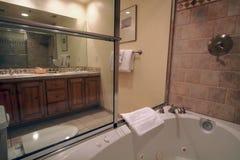 De reeks van de badkamers stock afbeelding