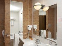 De reeks van de badkamers royalty-vrije stock foto