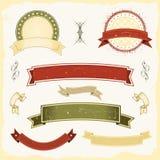 De Reeks van de Banner van Grunge Royalty-vrije Stock Afbeelding