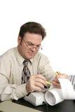 De Reeks van de boekhouding - Highlighter Stock Afbeeldingen