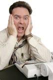 De Reeks van de boekhouding - Schok Stock Foto