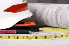 De Reeks van de bouw (Tekeningen 3) Stock Fotografie