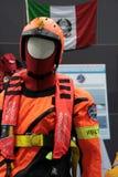 De reeks van de brandbestrijder Stock Fotografie