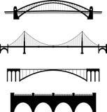 De reeks van de brug Royalty-vrije Stock Fotografie