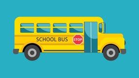 De Reeks van de Bus van de school - 1 stock illustratie