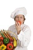 De Reeks van de chef-kok - Zoete Tomaat Stock Afbeeldingen