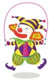 De reeks van de clown Royalty-vrije Stock Foto