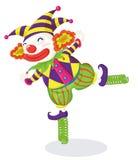 De reeks van de clown Royalty-vrije Stock Fotografie