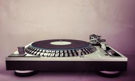 De reeks van de dame DJ Stock Afbeelding