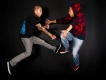 De reeks van de de hopdanser van de heup Royalty-vrije Stock Foto's
