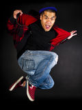 De reeks van de de hopdanser van de heup Stock Foto