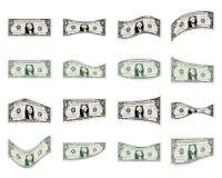 De reeks van de dollar Stock Foto
