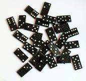 De Reeks van de domino stock afbeelding