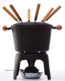 De reeks van de fondue Royalty-vrije Stock Foto