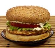 De reeks van de hamburger Stock Afbeelding