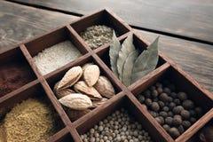 De reeks van de keuken kruiden Stock Afbeelding