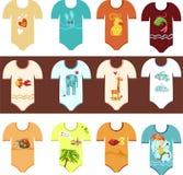 De reeks van de kleding Stock Foto