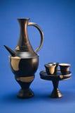 De Reeks van de koffie Royalty-vrije Stock Foto