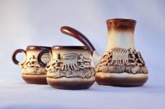 De reeks van de koffie Stock Foto's