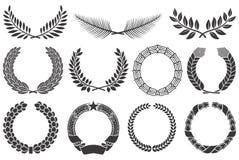 De reeks van de kroon vector illustratie