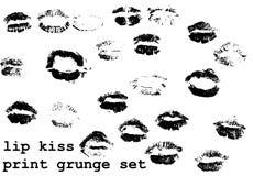 De reeks van de kusdruk Stock Foto's