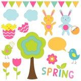 De reeks van de lente Royalty-vrije Stock Foto