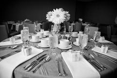 De Reeks van de Lijst van de Zaal van Dinning Stock Foto