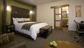 De reeks van de luxe in een hotel van de upscaleboutique stock afbeelding