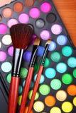 De reeks van de make-up stock fotografie