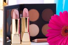 De reeks van de make-up Stock Afbeelding