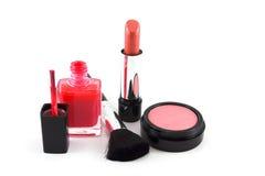 De Reeks van de make-up Royalty-vrije Stock Foto