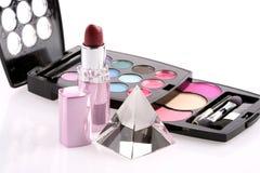 De reeks van de make-up Stock Foto's