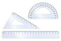 De Reeks van de meetkunde stock illustratie