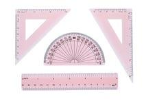 De reeks van de meetkunde Stock Afbeelding