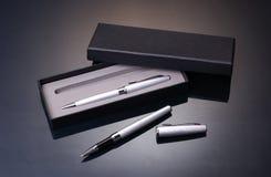De reeks van de pen stock foto