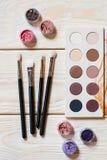 De reeks van de professionele make-upkunstenaar Royalty-vrije Stock Afbeeldingen