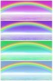 De reeks van de regenboog royalty-vrije illustratie