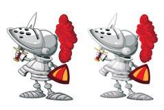 De reeks van de ridder Stock Afbeelding