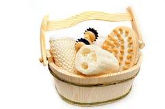 De reeks van de sauna Stock Afbeelding