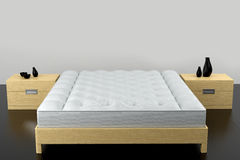 De reeks van de slaapkamer Stock Afbeelding