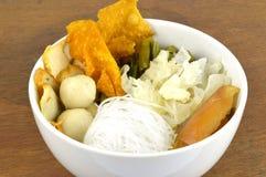 De reeks van de Sukimaaltijd. Aziatische voedselstijl. Stock Foto