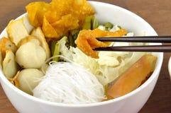 De reeks van de Sukimaaltijd. Aziatische voedselstijl. Stock Afbeeldingen