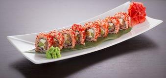 De Reeks van de Sushi van Maki Stock Foto's