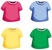 De reeks van de t-shirt Royalty-vrije Stock Foto