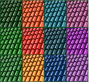 De reeks van de tegelillustratie Stock Fotografie